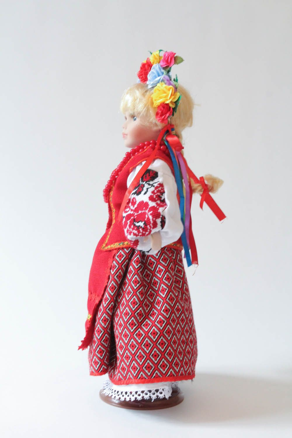 Doll in Ukrainian clothes photo 2