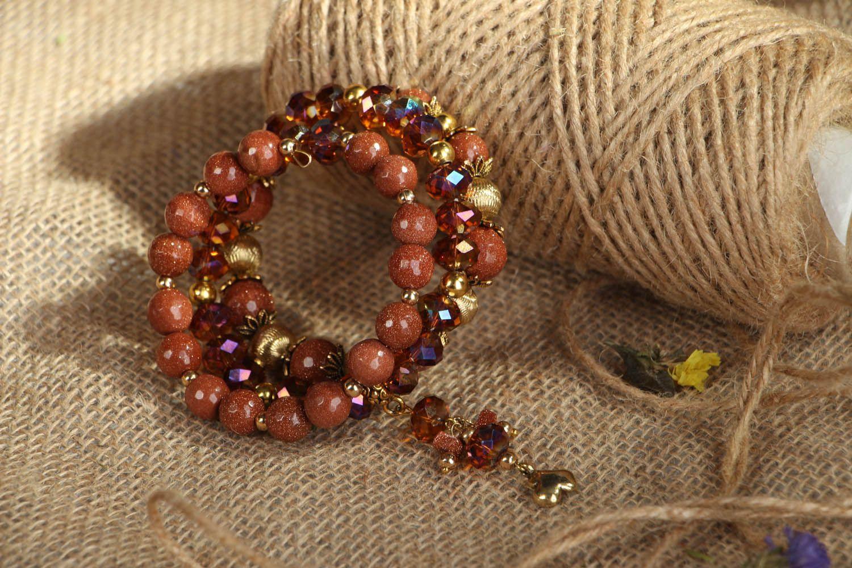 Aventurine stone bracelet photo 6