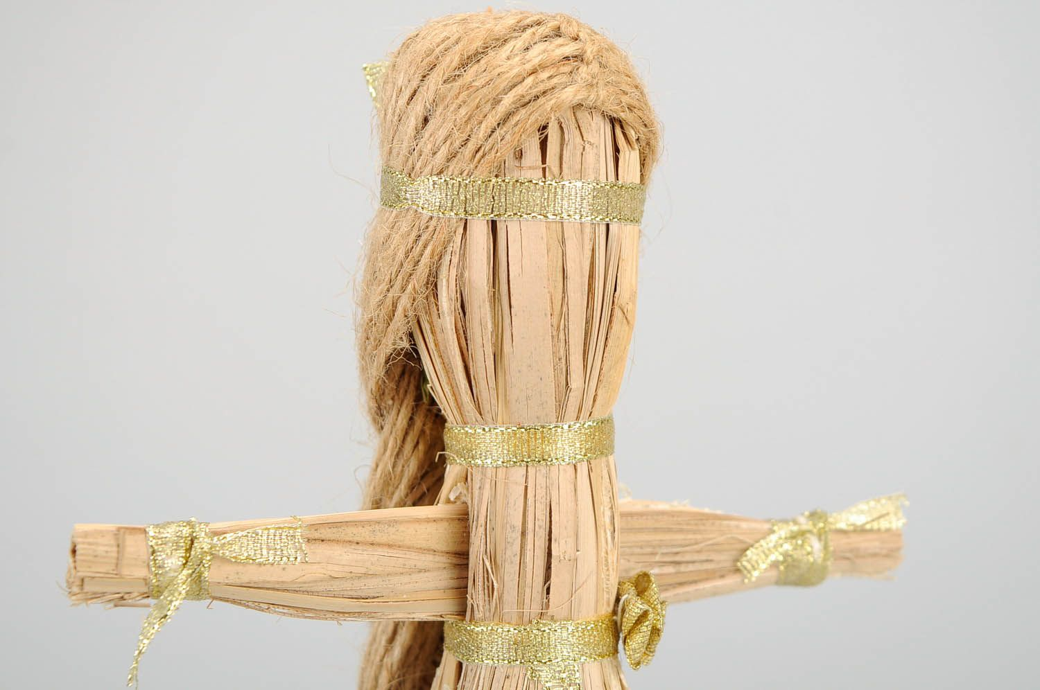 Amulet doll made of natural material photo 5