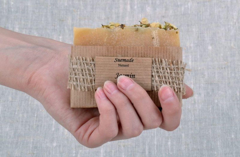 Handmade soap with jasmine photo 2