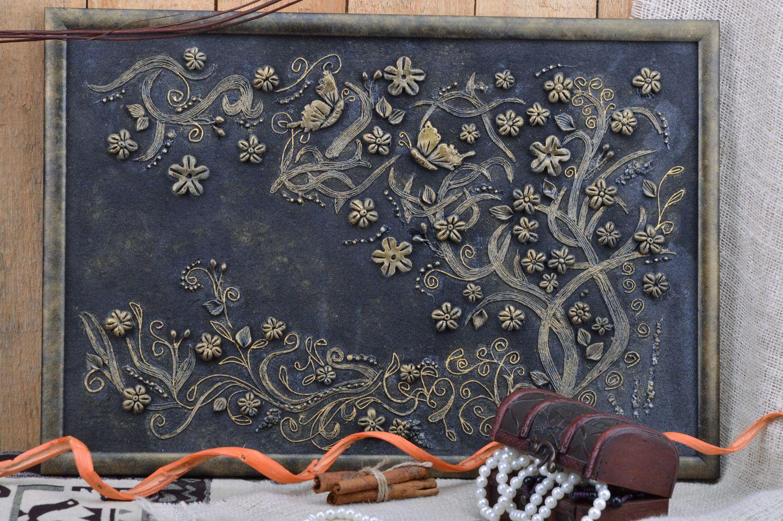 MADEHEART > Cuadro de arcilla plimérica enmarcado artesanal y ...