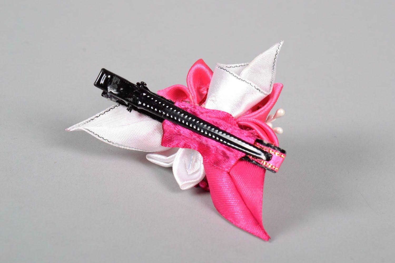 Satin hair clip Bouquet photo 5