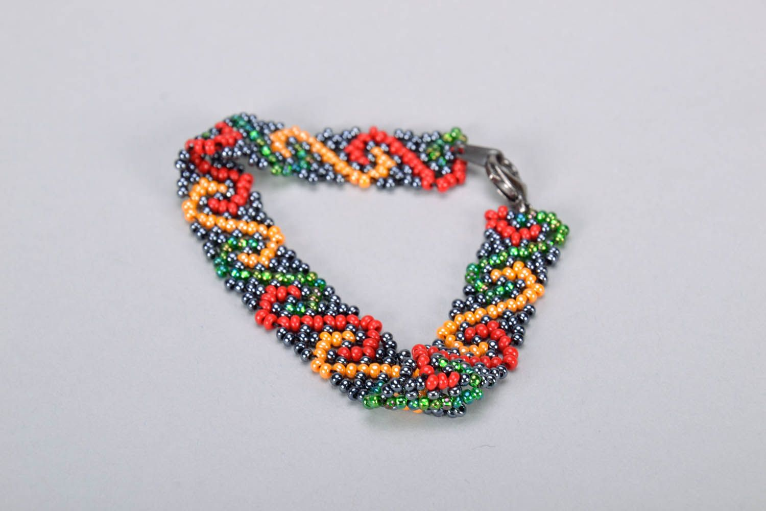 Multicolored Bead Bracelet photo 2