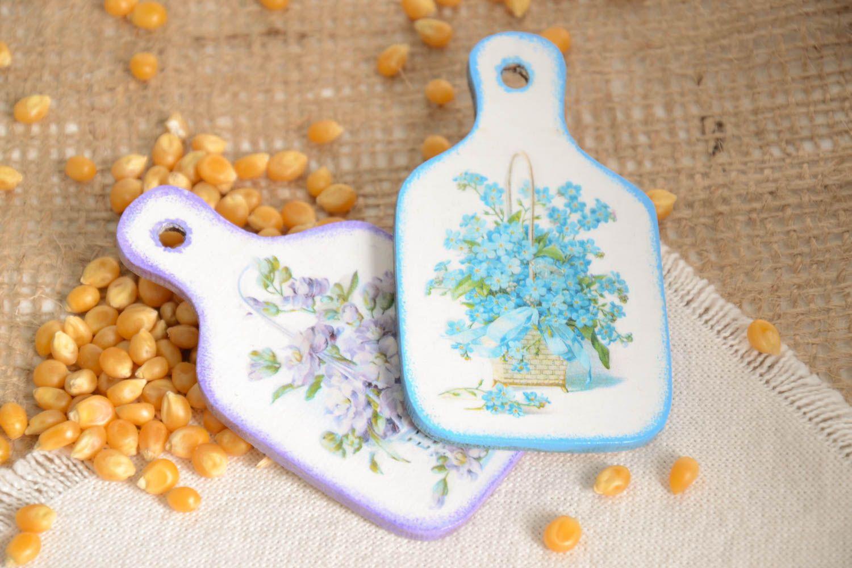 Handmade fridge magnet 2 pieces kitchen supplies modern kitchen for decor only photo 1
