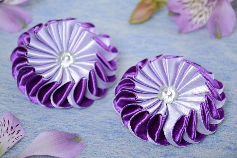 Картинки канзаши простые цветочки