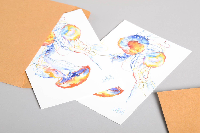 Открытки на двух страницах, цветов для