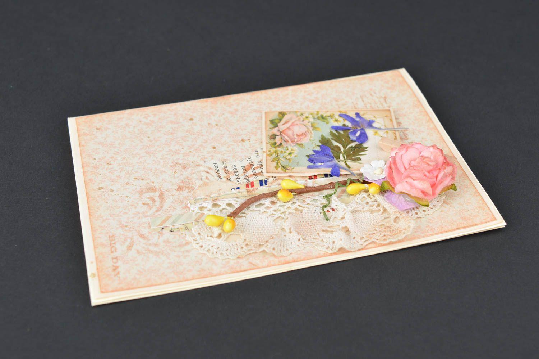 Handmade birthday card unusual collection postcard beautiful souvenir photo 4