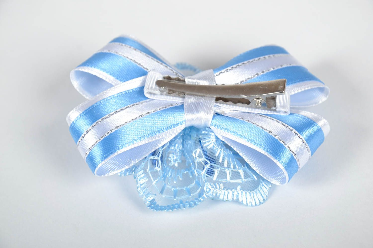 Hair clip with roses photo 3