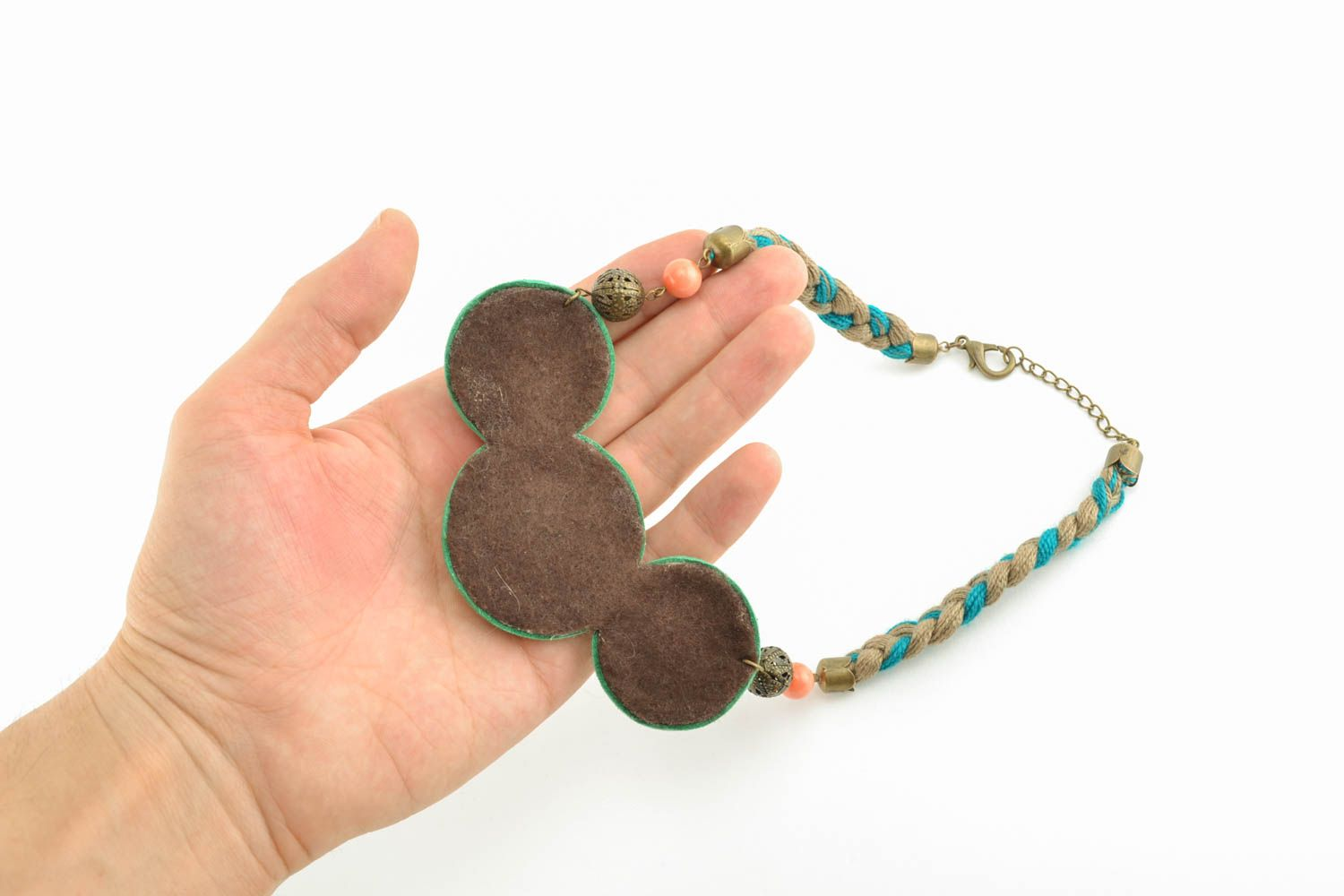 Casual beaded necklace photo 4