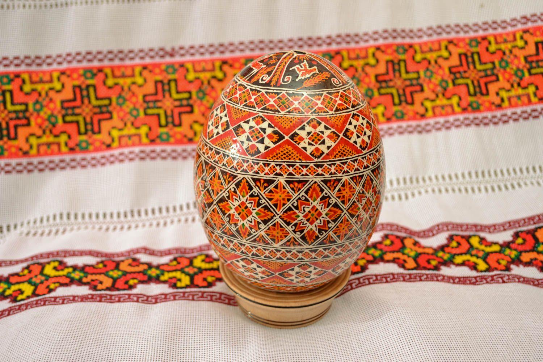 pisankas de huevo de avestruz Huevo de Pascua - MADEheart.com