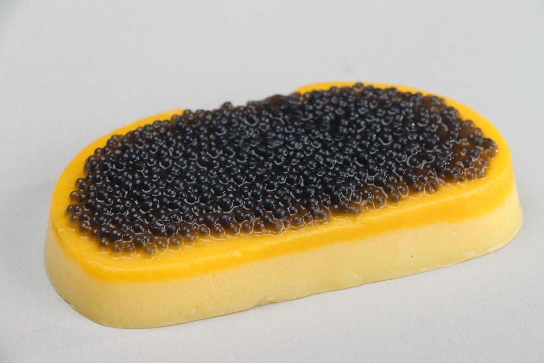 Gift soap in the form of Ukrainian sandwich photo 2