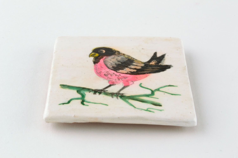 Fridge magnet Bird photo 3