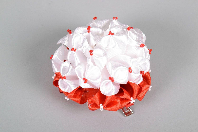 Haarspange mit Blumen foto 2