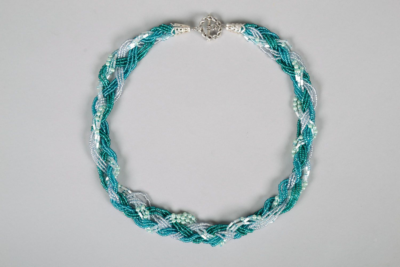 Beaded necklace photo 3