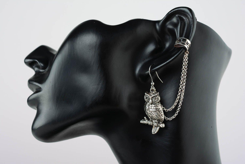 Metal ear cuffs Wise adviser photo 1