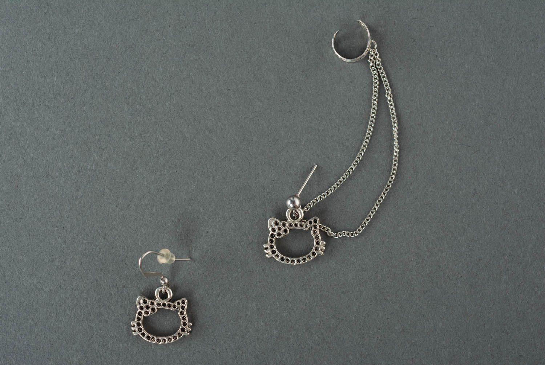 Metal ear cuffs  photo 3