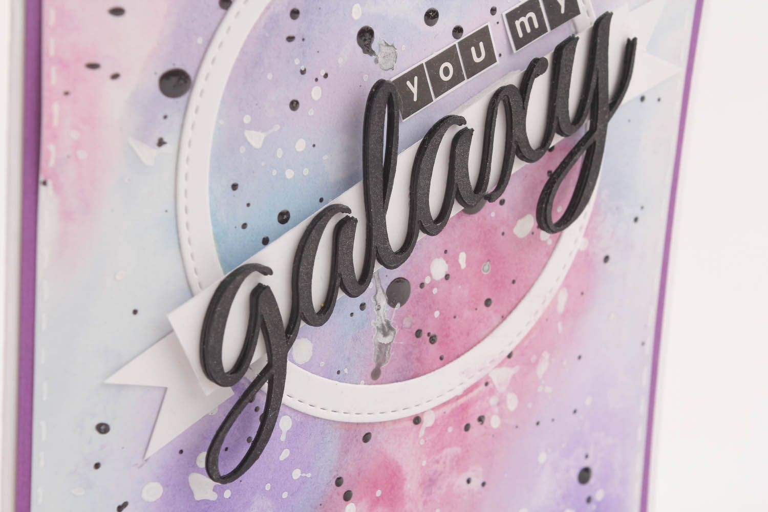Postcard You are my Galaxy photo 3