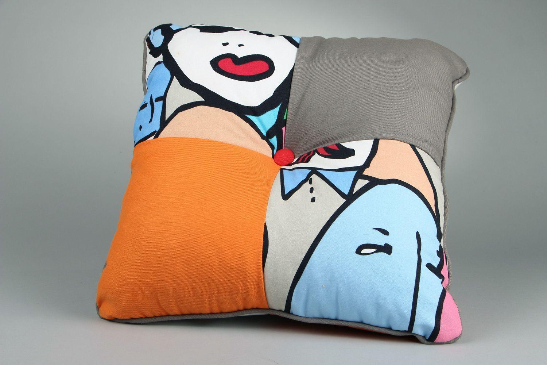 textiles and carpets Handmade pillow  - MADEheart.com