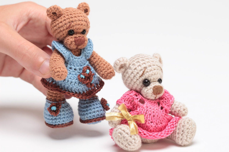 Вязаные игрушки спицами для детей своими руками 20