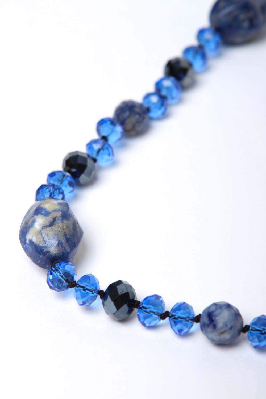 collares de piedras naturales Collar original de piedra natural lazurita bisutería artesanal regalo para mujer ,