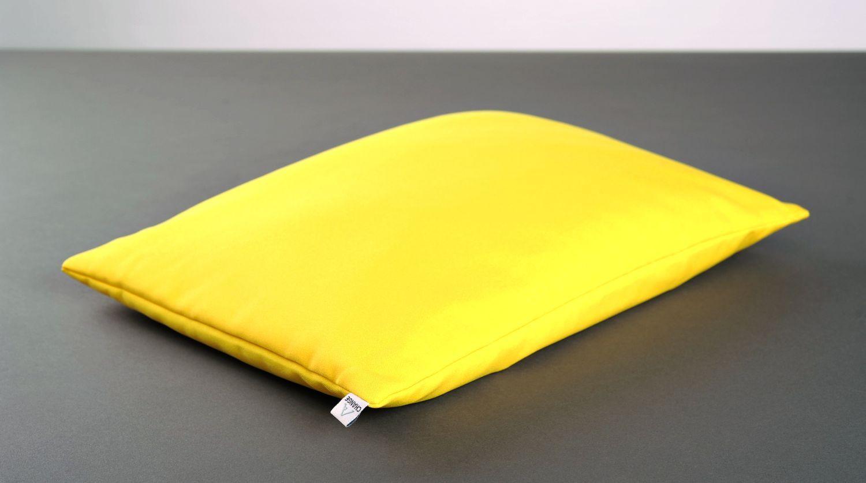 Yellow pillow for yoga photo 4