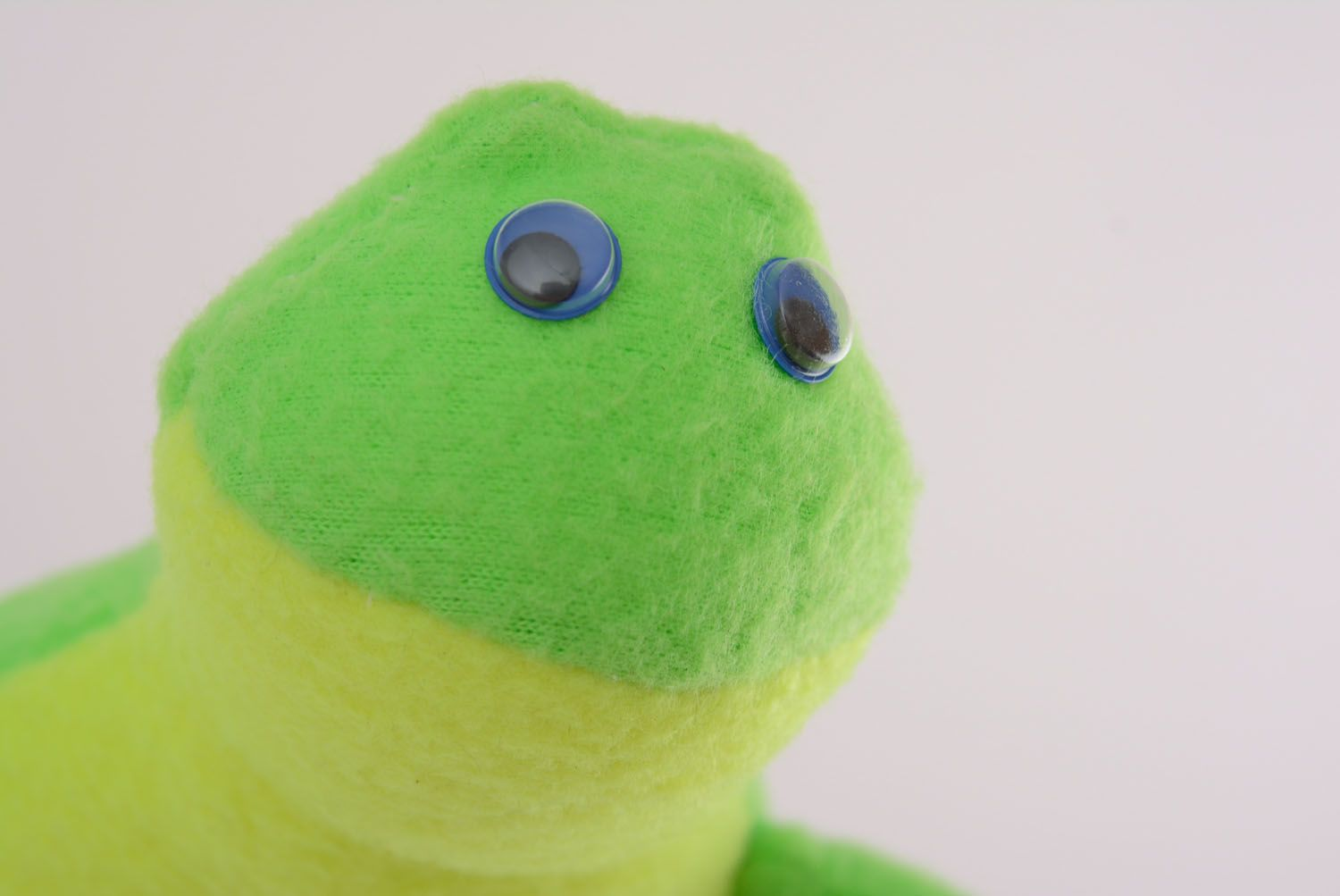 Soft toy Toad photo 3