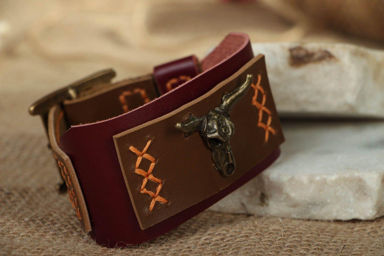 Leather bracelet Wild West photo 5