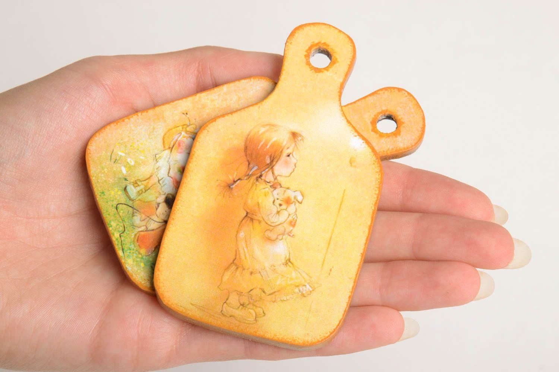 Beautiful souvenir magnets unusual handmade accessories decorative present photo 4