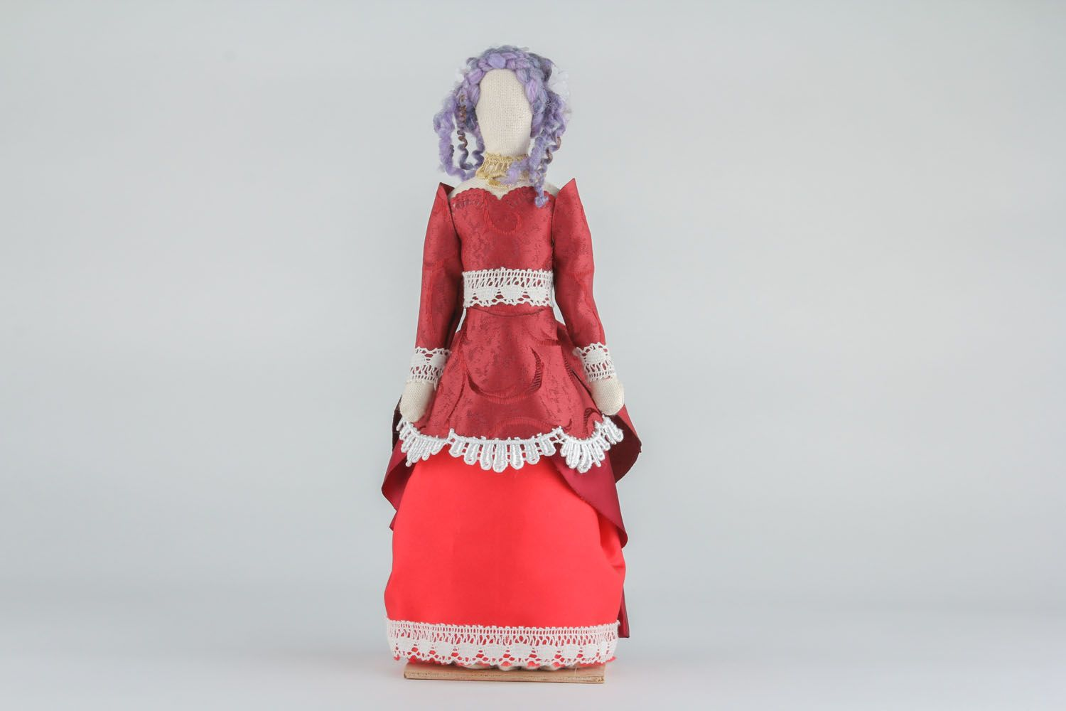 Doll in vintage dress photo 2