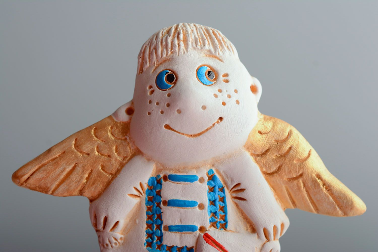 Homemade fridge magnet Angel with Letter photo 2