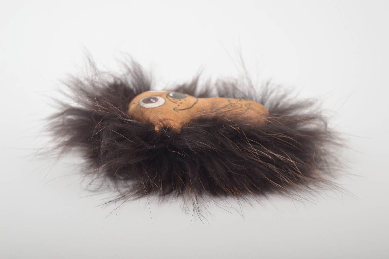 Beautiful soft toy stylish unusual accessories designer handmade hedgehog photo 5