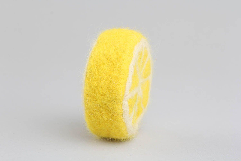 Loofah soap Lemon photo 4