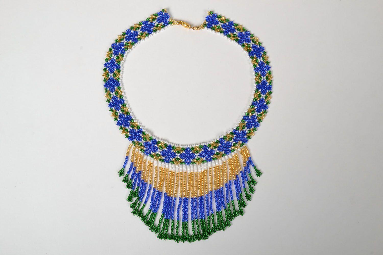 Homemade beaded necklace photo 4