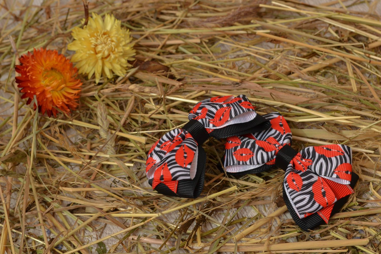 Hair ribbon bow photo 5