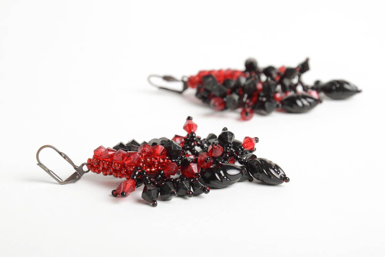 Designer jewelry handmade beaded earrings stylish beautiful earrings photo 5