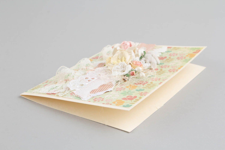 Handmade designer's postcard photo 2