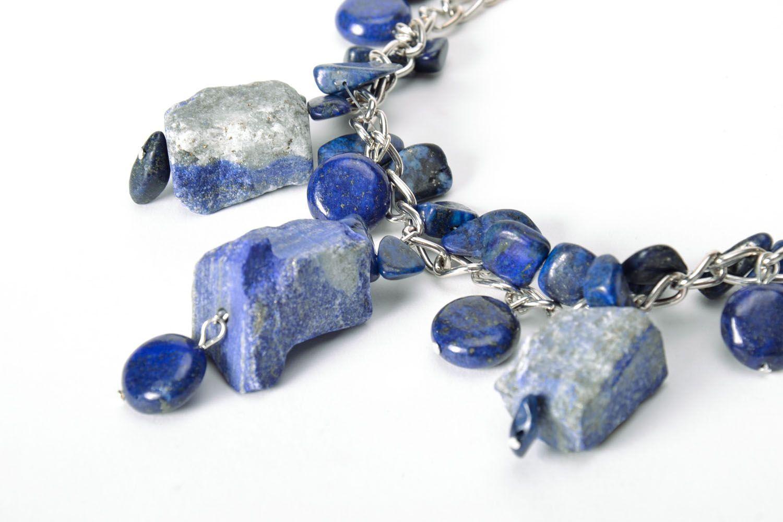 Lazurite necklace photo 4