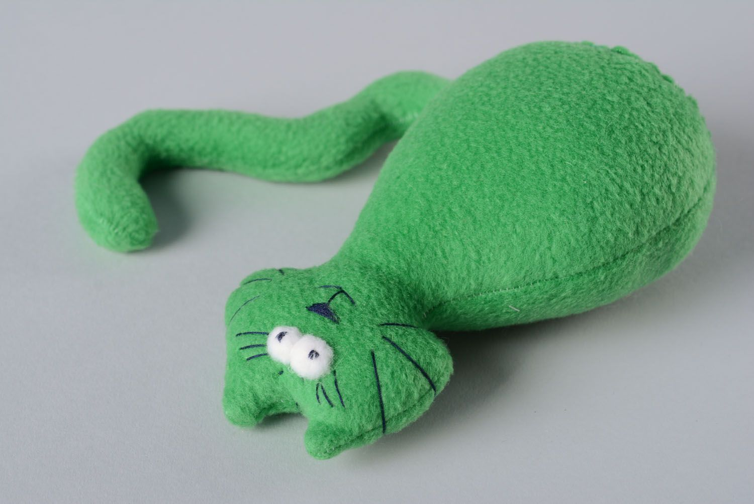 Soft toy in the form of a cat photo 5