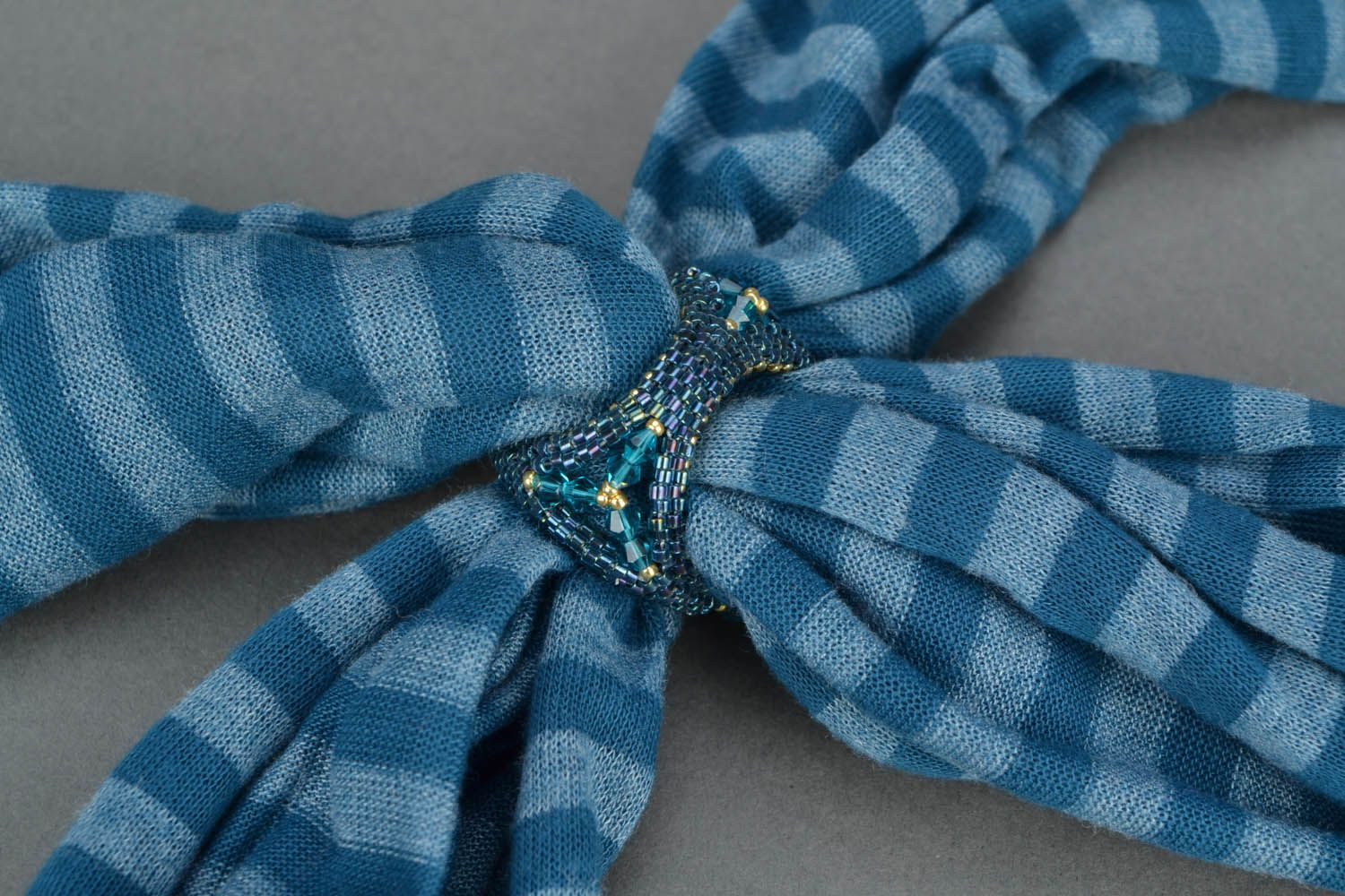Unusual scarf clip photo 5