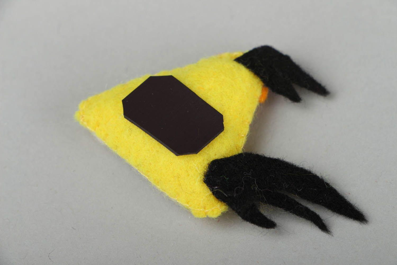 Fridge magnet Yellow Bird photo 3