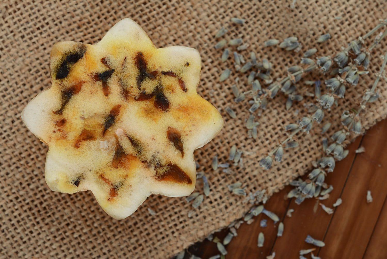 Beautiful soap with jasmine flowers photo 2