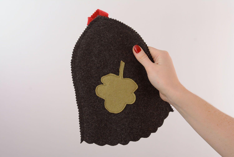 Unusual homemade steambath hat photo 2