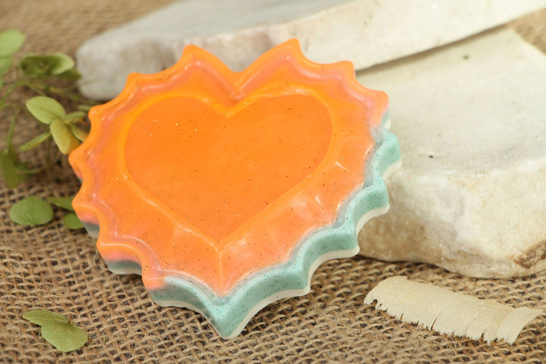 Heart-shaped gift soap photo 4