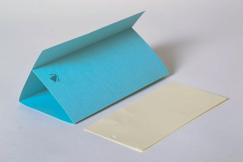 Blue greeting card photo 4