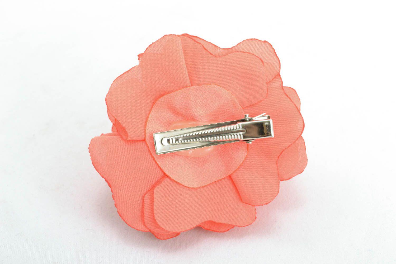 Fabric hair clip photo 2