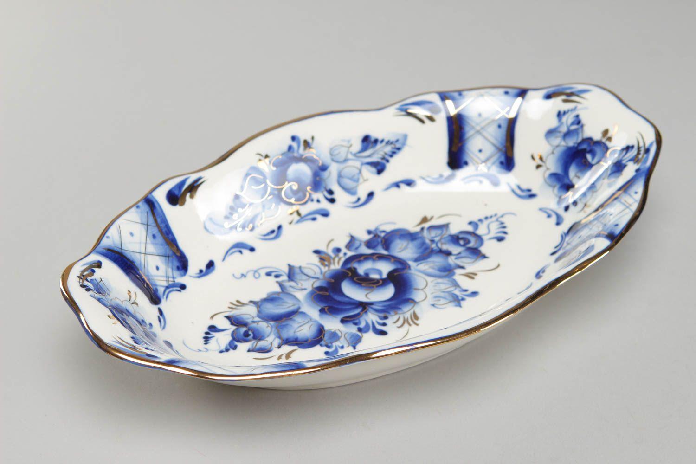 Peinture Porcelaine Plat Decore