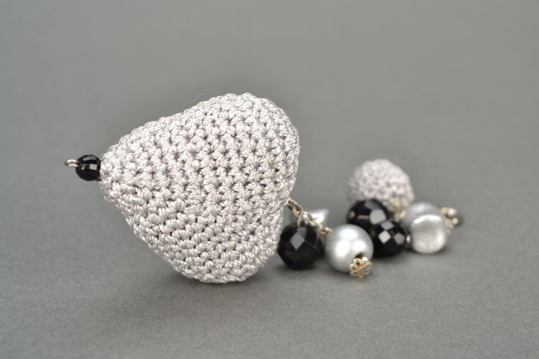 фото вязаных брелков диамантов раскрою просто интересные