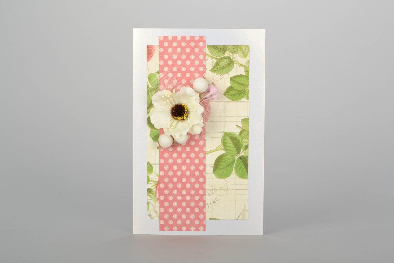 Handmade designer postcard photo 1