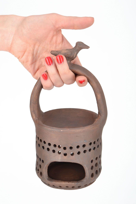 Ceramic aroma lamp photo 2