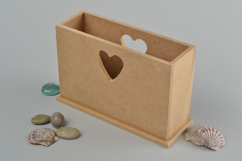 Madeheart servilletero de madera artesanal material para - Articulos de madera para manualidades ...